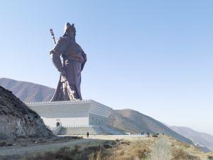 Guan Yu Statue. Yuncheng, China, 80 meters ( 262 ft) Built in 2010 © Fabrice Fouillet