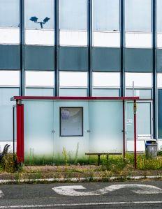 bus stop - Closing of a Dream
