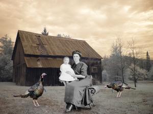 Granny Mame's Turkey Farm, 1910