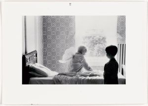 Grandpa Goes to Heaven, 1989 © Duane Michals; The Henry L. Hillman Fund. Courtesy of Carnegie Museum of Art, Pittsburgh