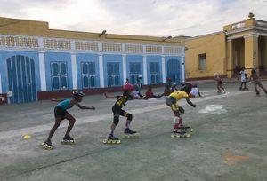 Rollers training in Cuba