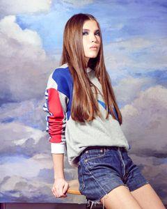 Alisa de Crystal Models dans mon studio à Paris - 2016