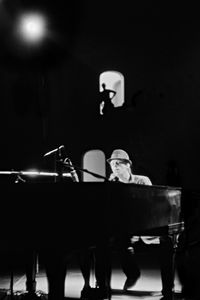 Tom Waits, Piano, Toronto, Canada, 1981