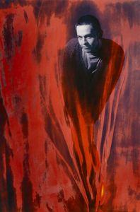 Robi 1996, mixed media, 40x50cm