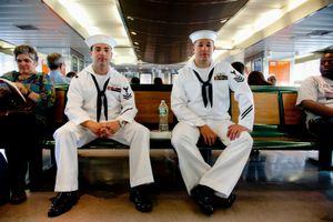 Sailor Chris and Sailor Cody, New York NY, May 2011