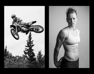 Sarah, Motocross