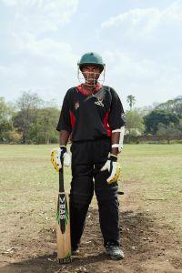 Shalani, allrounder, Malawian Under 19 Women's Cricket Team, Blantyre, Malawi, 2016.