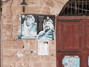 Mur Libanais (Yasser Arafat)