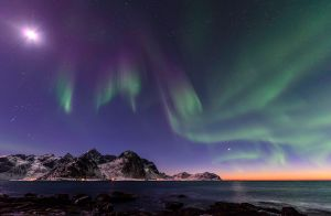 A twighlight in the artic