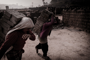 Workers in the Brick Factory