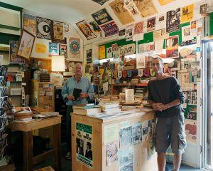 Scott and Dave, Tsunami Books, Eugene, OR