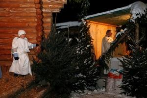 Jeu de Crèche et messe de Noël, LA Roche