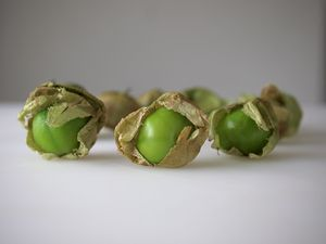 One dollar's worth of tomatillos from Mexico