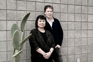Brigitte Shim and Howard Sutcliffe