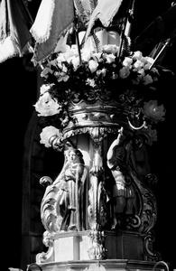 Dettaglio di una Candelora