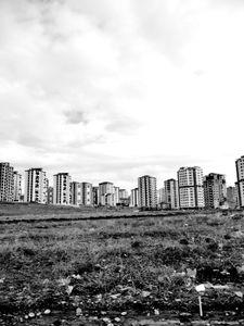 New buildings in Kayseri.