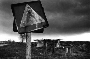 Contaminated lands, evacuated village, Gromyki, Gomel (Belarus) © Pierpaolo Mittica