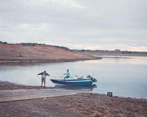 Boat launch, Lake Eucumbene.