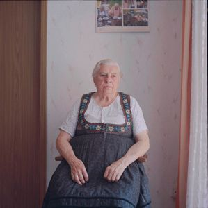 Marie Messingschlager, Franconia, Bavaria, 2012. From the series: The last women in their traditional peasant garbs