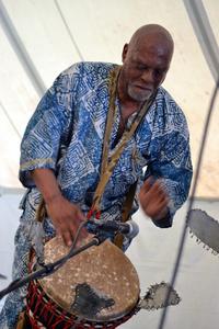 Drummer, Soul in Motion, Washington Folk Festival 2016