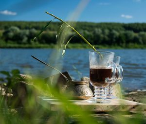 Turkish coffee in the  mid of Russia