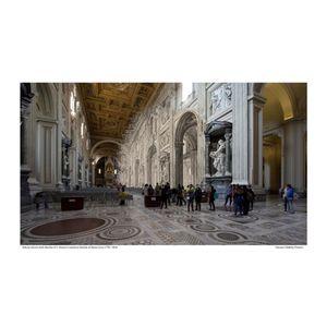 Basilica di San giovanni in Laterano  [Vedute di Roma] circa 1778 / 2016
