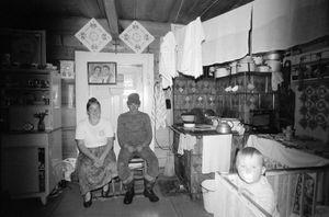 Zofia Rydet, Sociological Record, Bialy Dunajec, 1984-1990. People in Interiors cycle © Zofia Augustynska-Martyniak