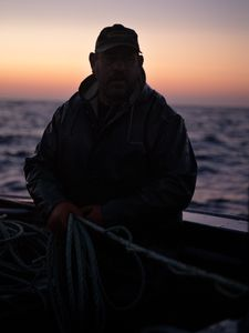 Scott Fishing (6 AM), Greenspond, Newfoundland, 2017