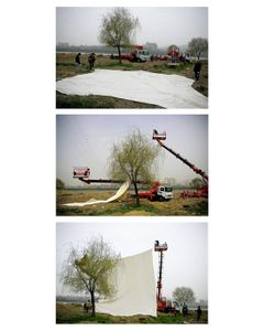Installation view, from the series Photography-Act © 2007 Myoung Ho Lee