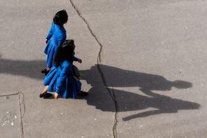 Blue togetherness