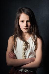 Mabel aged 11.