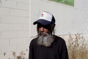 Mossman, Queensland. Anthony, 68.