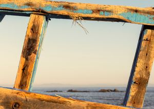 VII. THE CEMETERY. Window towards Morocco.