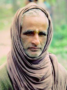 Temple keeper, Kashmir, India