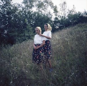 Maria and  Ileana, sisters.