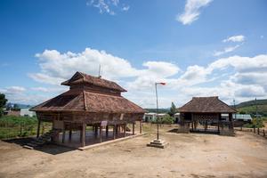 Brau village in Kon Tum Province
