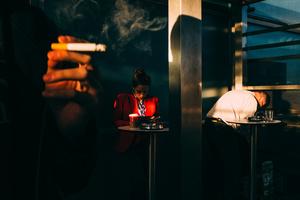 Smoking Area | Istanbul, 2015