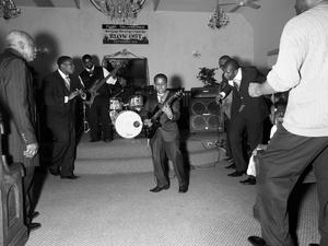 USA. Rochester, New York. 2012. Lil Jay J and the Spiritual Boys.