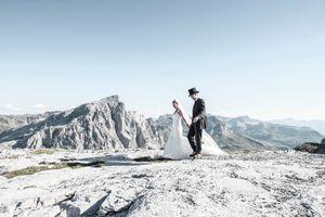 Wedding in the mountain