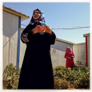 iPhone photography assingment with teenagers in Za'atari, Jordan