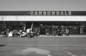 Saturday flea market, Carbondale, PA © Shaun O Boyle