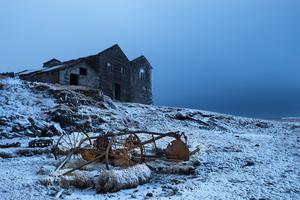 Abandoned Farm, Höfn, East Iceland