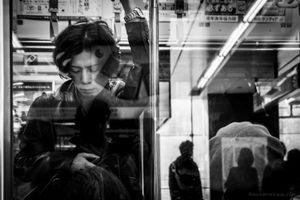 Morning Subway - Tokyo, 2017