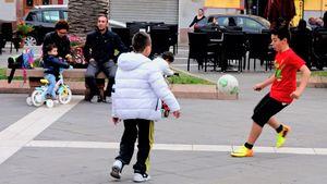 Street football, Italy  03