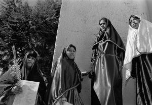 Araceli Arizmendi-Carmen Falcon-Maria de Lourdes Vazquez and Patricia Neri performed a re-enactment of the Wailing Women of Jerusalem.