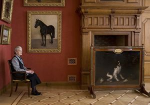 Stroganov Palace, Russian State Museum, 2008. From the series, Guardians © Andy Freeberg