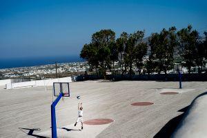 Santorini basketball