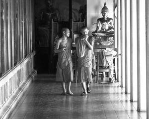 Two Boys And Buddha