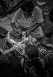 Indian Baby Hair shaving  Holy Ceremony