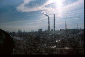 Ukraine, route vers Ternopil